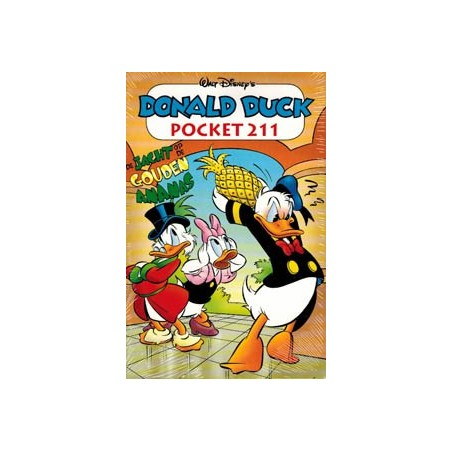 Donald Duck  pocket 211 Jacht op de gouden ananas