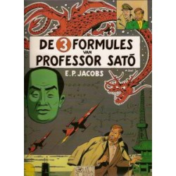 Blake & Mortimer 11: De 3 formules van Professor Sato deel 1