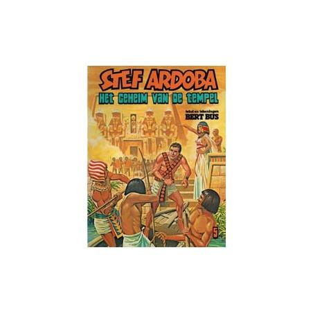 Stef Ardoba 05 Het geheim van de tempel 1e druk 1980