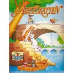 Disney filmstrip 10 De Aristokatten herdruk 2001