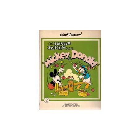 Jonge jaren van Mickey & Donald 02 1e druk 1980