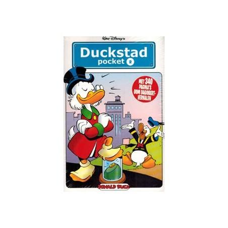 Donald Duck Duckstad pocket 02 Oom Dagobert-verhalen 1e druk 2013