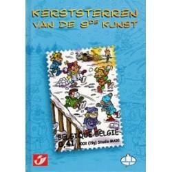 Postzegelboekje Kerststerren van de 9de kunst HC