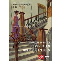 Postzegelboekje Schuiten Verhalen over postzegels HC