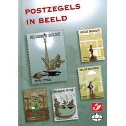 Postzegelboekje Stripbeelden Postzegels in beeld HC