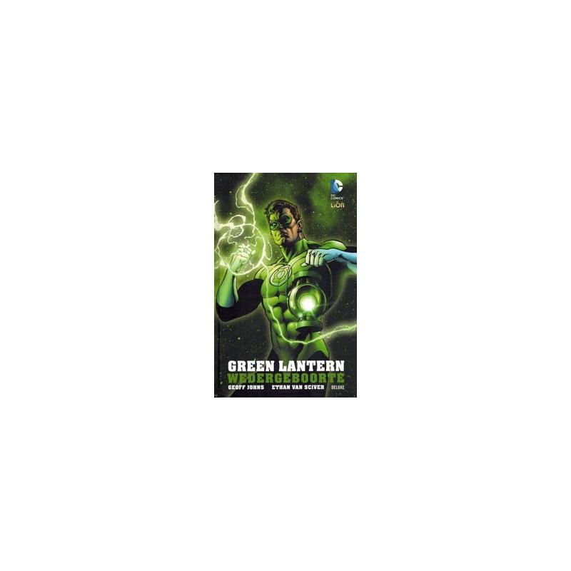 Green lantern  NL Wedergeboorte deluxe HC