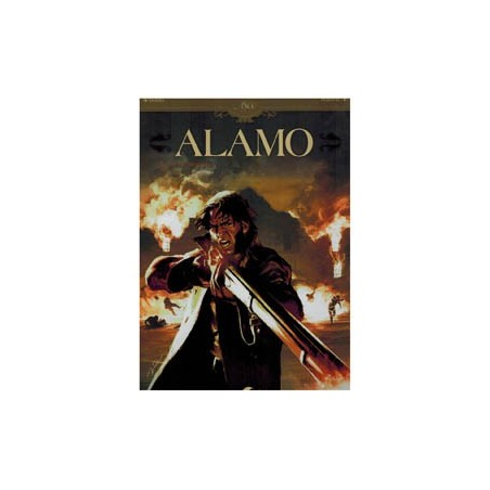 Alamo 02 HC<br>Een rode dageraad