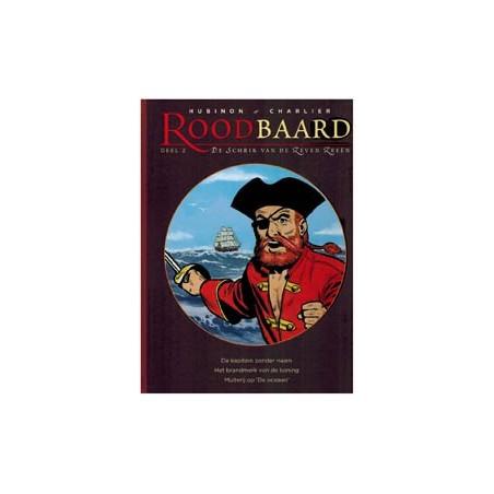 Roodbaard   integraal 02 HC De kapitein zonder naam / Het brandmerk van de koning / Muiterij op de oceaan (deel 3, 4 & 5)