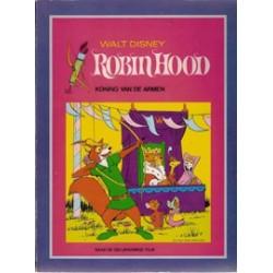 Robin Hood (Disney) set deel 1 t/m 4 1e drukken 1974