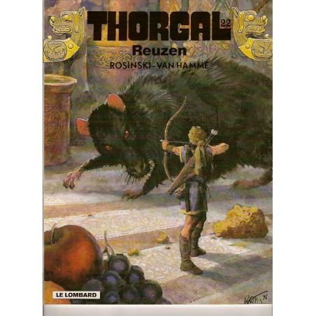 Thorgal HC 22 Reuzen 1e druk 1996