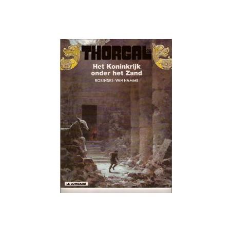 Thorgal HC 26 Het koninkrijk onder het zand 1e druk 2001