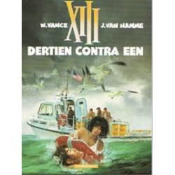 XIII<br>08 Dertien contra een<br>1e druk 1991