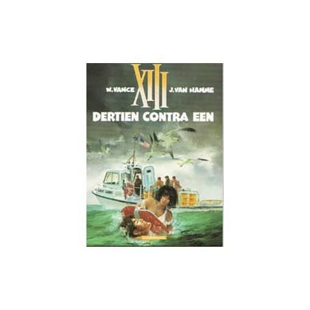XIII 08 Dertien contra een 1e druk 1991