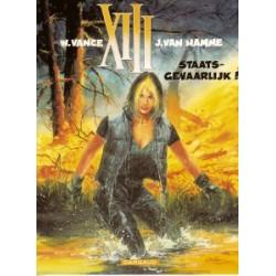 XIII<br>14 Staatgevaarlijk!<br>1e druk 2000