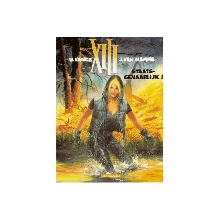 XIII 14 Staatgevaarlijk! 1e druk 2000