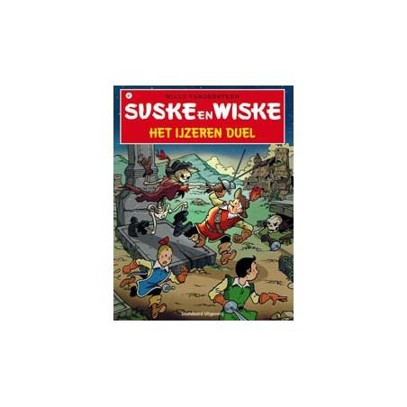 Suske & Wiske 321 Het ijzeren duel 1e druk 2013