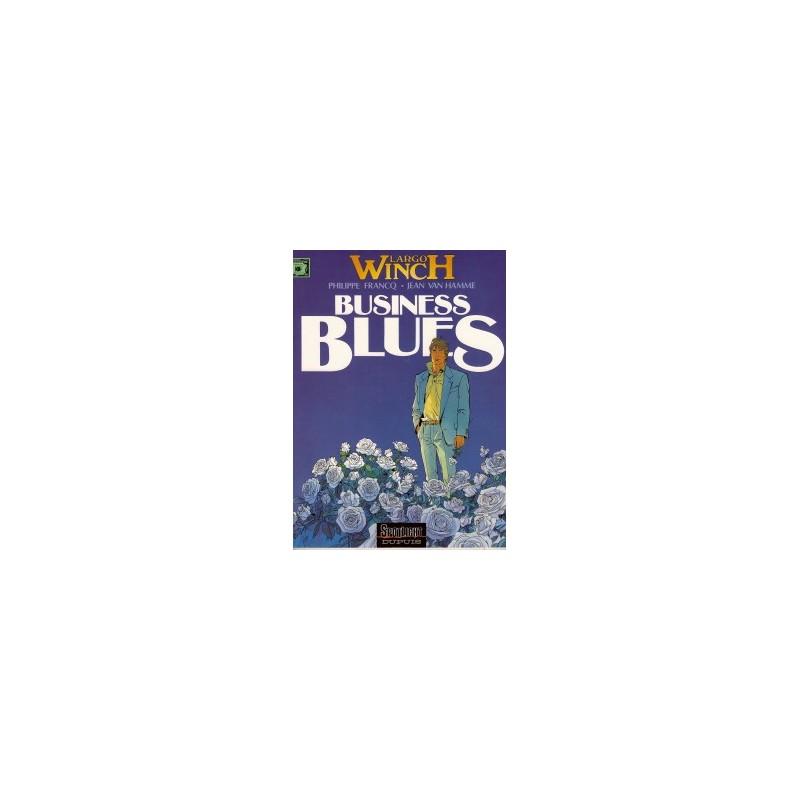 Largo Winch 04 Business Blues 1e druk 1993