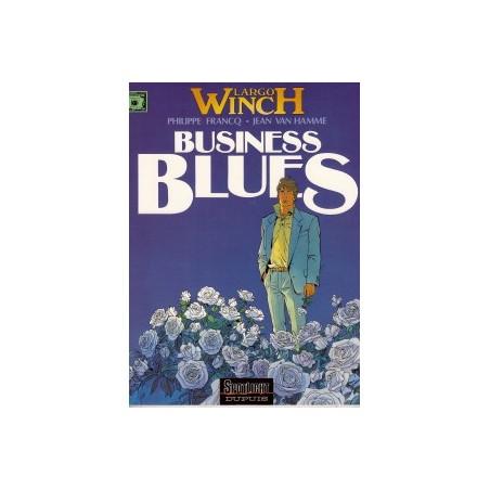 Largo Winch<br>04 Business Blues<br>1e druk 1993