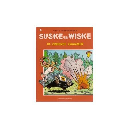 Suske & Wiske  Oorspronkelijk omslag* 110 De zingende zwammen