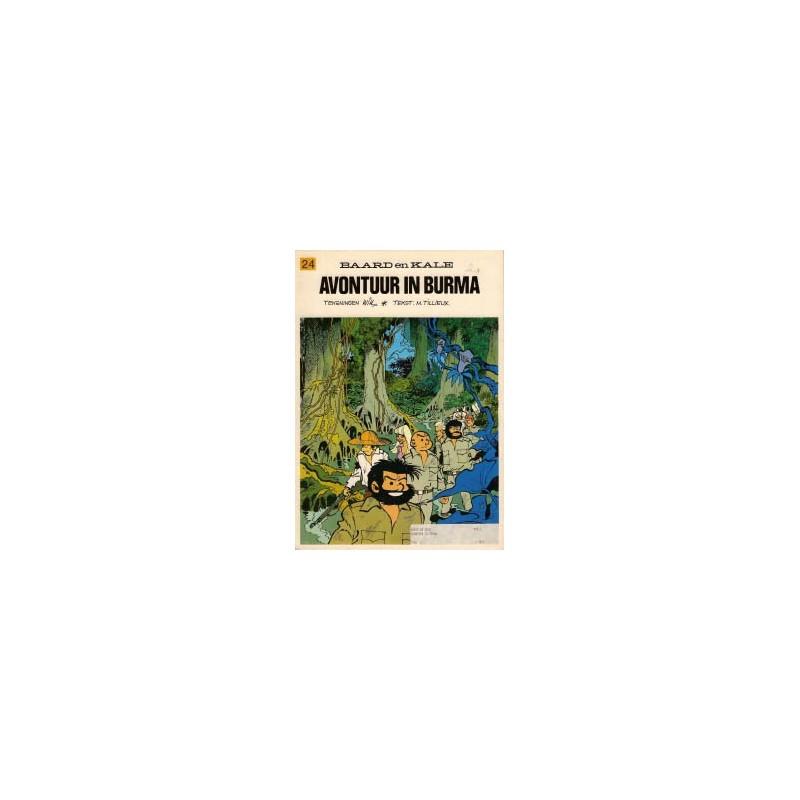 Baard en Kale 24 Avontuur in Burma 1e druk 1976