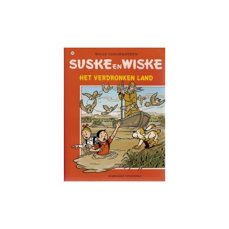 Suske & Wiske  Oorspronkelijk omslag* 263 Het verdronken eiland