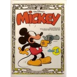 Mickey Mouse klassiek set<br>deel 1 t/m 3 HC<br>1e drukken