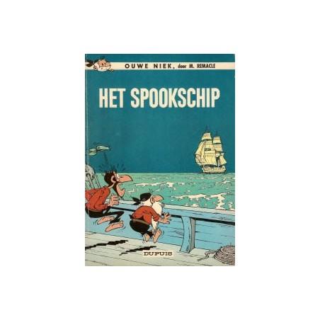 Ouwe Niek en Zwartbaard 10 Het spookschip 1e druk 1967