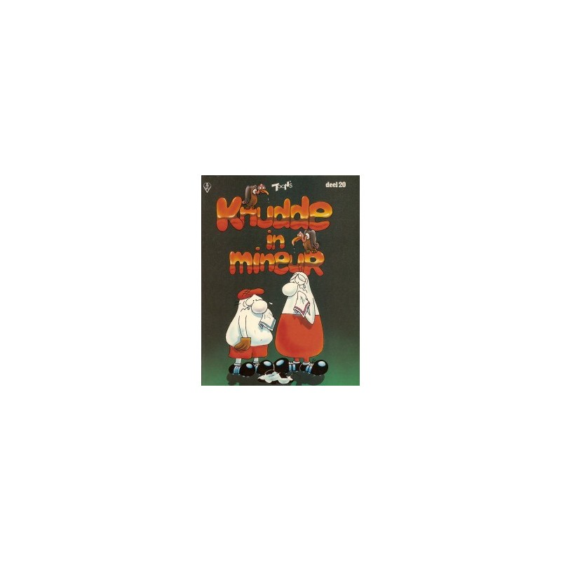 FC Knudde 20 Knudde in mineur 1e druk 1986