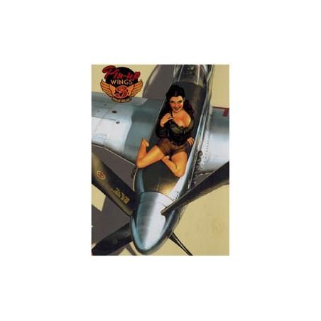 Pin-up Wings  03 HC prenten: koele vliegtuigen & warme vamps