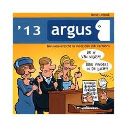 Argus 2013<br>Nieuwsoverzicht in meer dan 200 cartoons