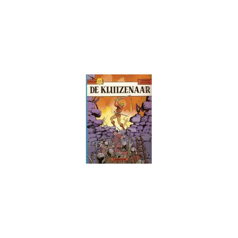 Tristan 01 De kluizenaar 1e druk 1984 stickersporen kaft