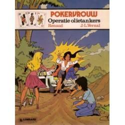 Pokervrouw<br>set deel 1 t/m 7<br>1e drukken 1983-1988