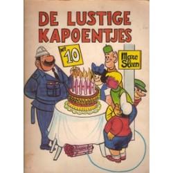 Lustige Kapoentjes 10 herdruk 1970