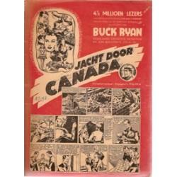 Buck Ryan Jacht door Canada 1e druk 1950
