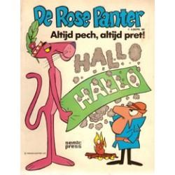Rose Panter album<br>04 Altijd pech, altijd pret!<br>1e druk 197