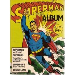 Superman album 04 Superman wordt bang! 1e druk 1967