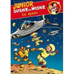 Junior Suske & Wiske 08<br>In space