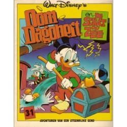 Oom Dagobert 31<br>De schat op zee<br>1e druk 1986