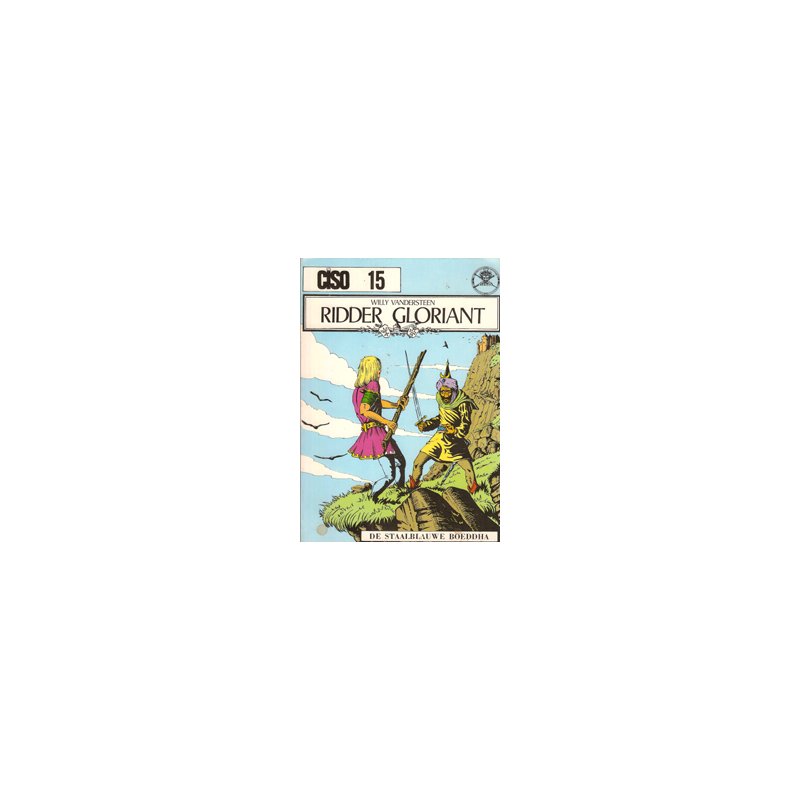 Ciso 15 Ridder Gloriant & De staalblauw boeddha herdruk