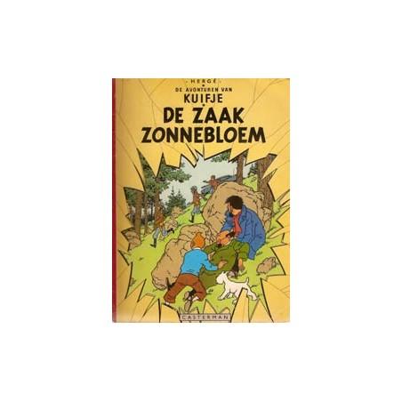 Kuifje linnen rug SC De zaak Zonnebloem herdruk [A 1965a]