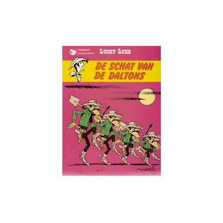 Lucky Luke II 18 De schat van de Daltons herdruk