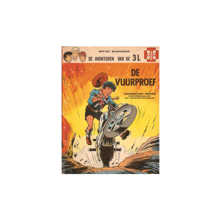3L De vuurproef Favorietenreeks I 15 1e druk vdH 1968