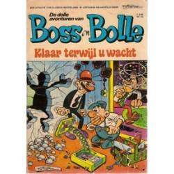 Boss en Bolle 02 Klaar terwijl u wacht 1e druk 1971