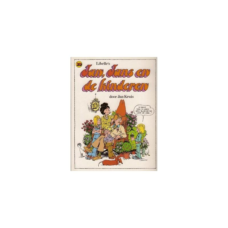 Jan, Jans en de kinderen 10 1e druk 1980 (preeg in cover)