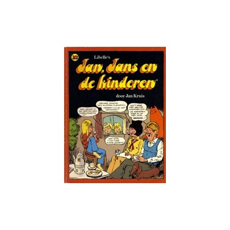 Jan, Jans en de kinderen 13 1e druk 1983 (cut-out cover)