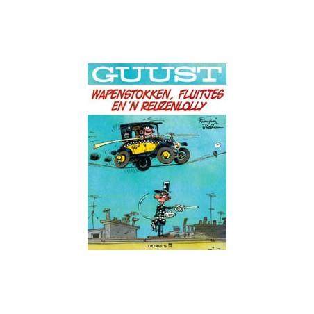 Guust Flater   thema-album 06 Wapenstokken, fluitjes en 'n reuzenlolly