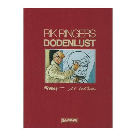 Rik Ringers Luxe Dodenlijst HC 1e druk 1986