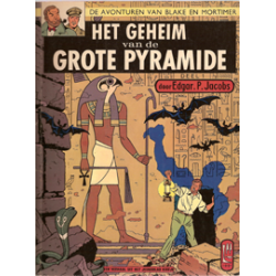 Blake & Mortimer L03 Geheim v/d grote pyramide 1e druk SC