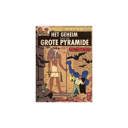 Blake & Mortimer L03 Geheim van de grote pyramide 1e druk SC Helmond