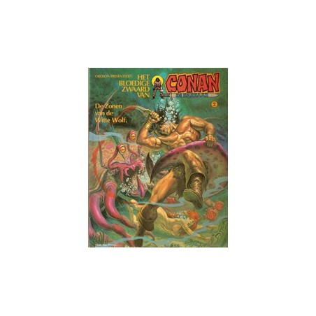Conan album 02 – De zonen van de witte wolf 1e druk 1979